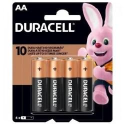 Pilha Duracell AA C/4 MN1500B4