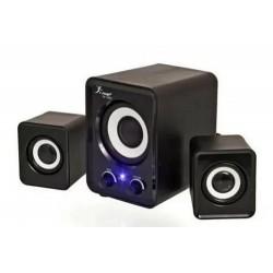CAIXA DE SOM USB MP3 8W RMS...